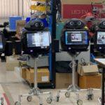 Bolnavii de coronavirus, ingrijiti de roboti în Thailanda