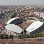 Siglă pentru stadionul municipal din Arad