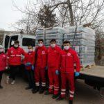 Crucea Roșie: Echipamente de protecție pentru Jandarmerie, Poliție și spitale