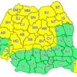 Vânt puternic dar și averse cu descarcari electrice, astăzi, în toată Transilvania