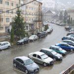 Azi ninge în Borsa. Ce spun meteorologii ?