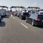 Aglomerație mare la frontiera cu Ungaria