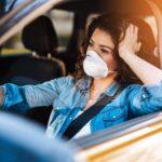 Masca de protecția trebuie purtata și în mașina personala