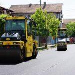 Bistrita: Alte patru străzi asfaltate