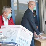A început distribuirea mastilor gratuite în municipiul Satu Mare (Foto)