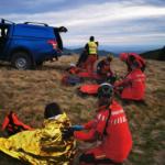 Femeie salvată pe Creasta Cocoșului (Foto)