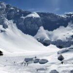 Strat de zăpada la Balea Lac