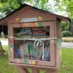 Mini-biblioteca în Grădina Romei (Foto)