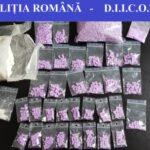 Doi traficanti de droguri, prinși în flagrant (Foto)