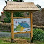Harta pentru cei care vizitează Muzeul Satului din Baia Mare