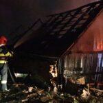 A ars un grajd în Jelna (Foto)