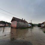 Satele Paloș si Beia, afectate de inundații (Foto)