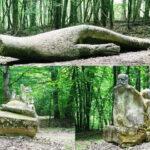 Atracție turistica. Pădurea cu sculpturi (Foto)