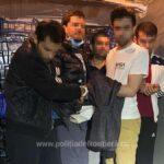 Cinci asiatici prinși în Vama Bors (Foto)