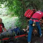 Turist accidentat, salvat (Foto)