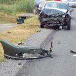 Accident. Doua mașini distruse (Foto)