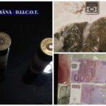 Traficanti de droguri prinși în urma unor perchezitii