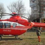 Program non-stop pentru elicopterul de la Arad