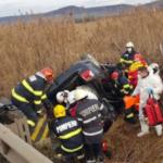 Un mort și trei răniți, într-un accident de circulatie