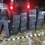 Mii de pachete de țigări, confiscate la granița