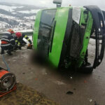Accident cu doi morti