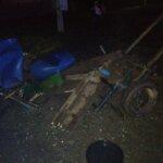 Carutas implicat într-un accident