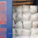 Zeci de tone de deseuri in TIR-uri, la Bors